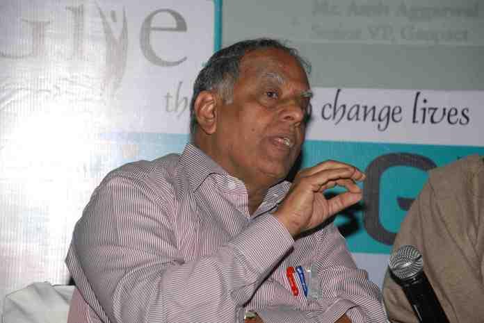 Mr. S Sandilya (President, SOS Children's Villages)